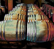 Napa Valley Winery by J O'Neal