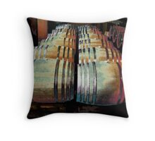 Napa Valley Winery Throw Pillow