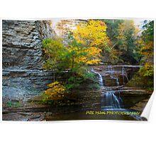 Autumn at the falls V Poster