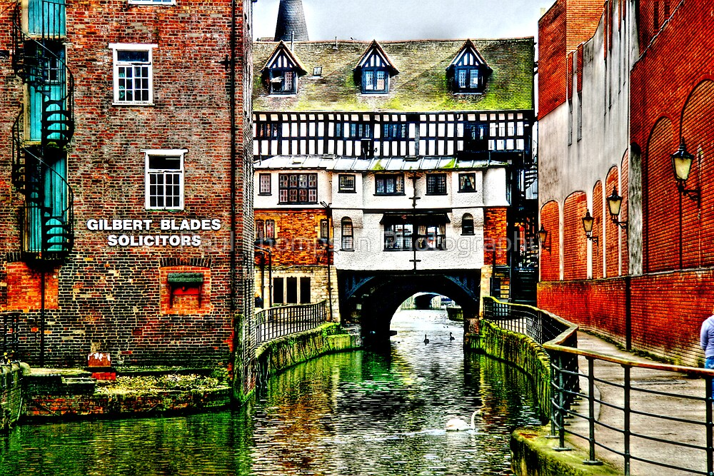 The Fossdyke Canal - Lincoln by Paul Thompson Photography