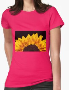 Happiness is Yellow Womens Fitted T-Shirt