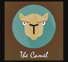 The Camel Cute Portrait Kids Clothes