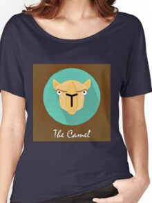 The Camel Cute Portrait Women's Relaxed Fit T-Shirt