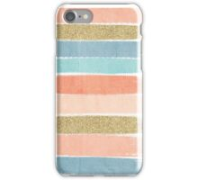 Mariko - Brushstroke, Painterly, painted, paint, summer, 70s colors  iPhone Case/Skin