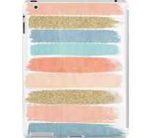 Mariko - Brushstroke, Painterly, painted, paint, summer, 70s colors  iPad Case/Skin