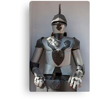 Knight armor. Canvas Print