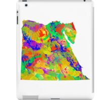 Watercolor Map of Egypt iPad Case/Skin
