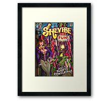 SheVibe Fun Factory Cover Art Framed Print