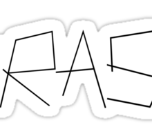 """TRASH"" DESIGN Sticker"