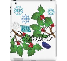 December iPad Case/Skin
