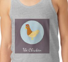 The Chicken Cute Portrait Tank Top