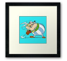 asterix and obelix Framed Print
