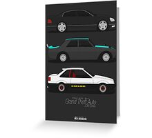 Grand Theft Auto JDM Series Greeting Card