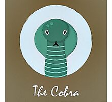The Cobra Cute Portrait Photographic Print