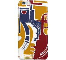 fists, guitars and pistons iPhone Case/Skin