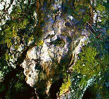 Green face, Magog by Amanda Gazidis