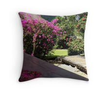 Moorea Morning Throw Pillow