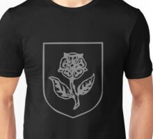 A Complete Guide to Heraldry - Figure 492 — Rose slipped and leaved Unisex T-Shirt