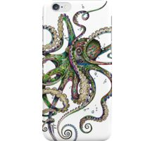 Octopsychedelia iPhone Case/Skin