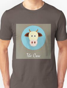 The Cow Cute Portrait Unisex T-Shirt
