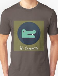 The Crocodile Cute Portrait Unisex T-Shirt
