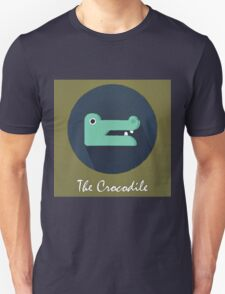 The Crocodile Cute Portrait T-Shirt