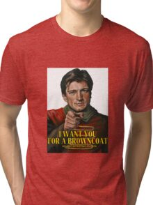 I Want You for a browncoat Tri-blend T-Shirt