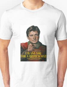 I Want You for a browncoat T-Shirt