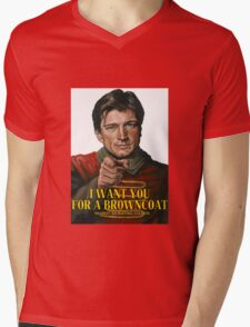 I Want You for a browncoat Mens V-Neck T-Shirt