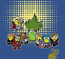 Assemble Minions by HulkHogan
