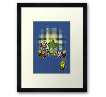 Assemble Minions Framed Print
