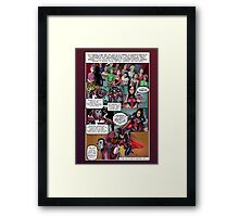 SheVibe Tristan Taormino Rise Of Reason Comic Framed Print