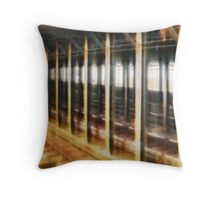 New York City Subway Throw Pillow