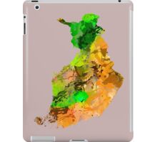 Map of  Finland iPad Case/Skin