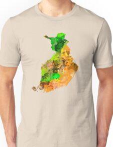 Map of  Finland Unisex T-Shirt