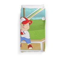 Non Olympic Sports: Baseball Duvet Cover