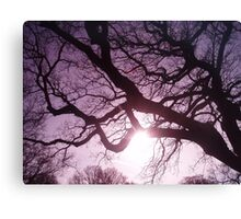 Ink Tree Canvas Print