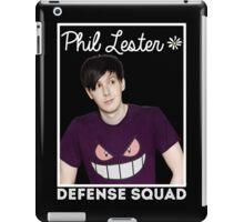 Join the PHIL LESTER DEFENSE SQUAD (White) iPad Case/Skin