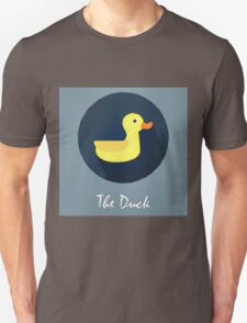 The Duck Cute Portrait Unisex T-Shirt