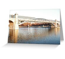 bridge in Moscow Greeting Card