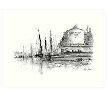 The Ship Inn Art Print