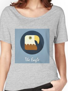The Eagle Cute Portrait Women's Relaxed Fit T-Shirt