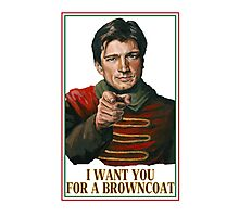 I Want You for a browncoat Photographic Print
