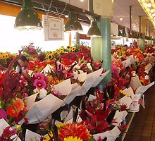 Market Flowers by Harv