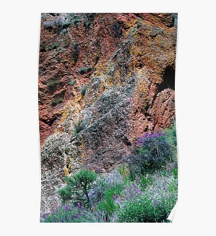 Pinnacles Colours Poster