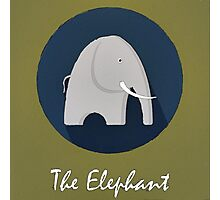 The Elephant Cute Portrait Photographic Print
