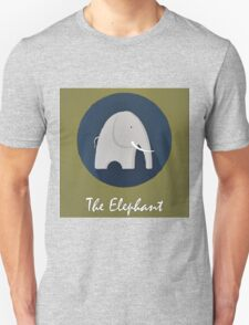 The Elephant Cute Portrait T-Shirt