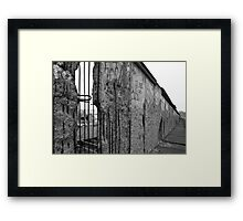 Berlin Wall 1 Framed Print