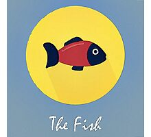 The Fish Cute Portrait Photographic Print