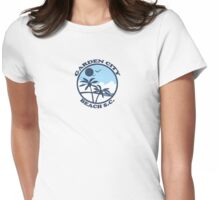 Garden City Beach - South Carolina. Womens Fitted T-Shirt